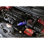 HPS Shortram Air Intake w/ Heat Shield - Kia Forte 2.0L 10-13 (Blue)