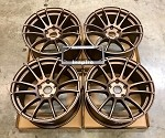Rays Wheels Gram Lights 57Xtreme Matte Bronze 17x9 +40 5x114.3