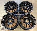 Weds Wheels Wedssport SA72R 17x9.5 +38 5x100 Circuit Black