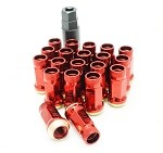 Muteki SR45R Lug Nuts - Red - 12x1.25