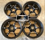 Yokohama Wheels Advan Racing RG-D2 18x9 +43 5x114.3 Semi Gloss Black