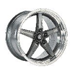 Cosmis Racing R5 Wheel (Gunmetal) - 18x9.5 / 5x120 / Offset +25