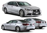 TOM'S Racing Styling Parts Set for Standard muffler - Lexus LS460/600h F-SPORT 12+
