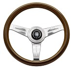 Nardi Classic - 330mm (Wood Steering Wheel w/ Aluminum Spokes)