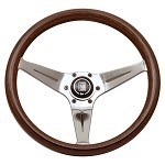 Nardi Deep Corn - 350mm (Wood Grain / Polished Spoke)