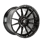 Cosmis Racing R1PRO Wheel (Black) - 18x12 / 5x114.3 / Offset +24