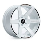 Cosmis Racing S1 Wheel (White) - 18x10.5 / 5x114.3 / Offset +5