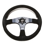 Mugen Racing III Steering Wheel 350mm - Suede