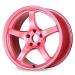 Gram Lights 57CR Wheel - 17x9.0 / 5x100 / Offset +38 (Sakura Pink)