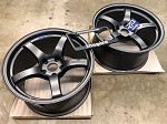 Rays Wheels Gram Lights 57CR Gun Blue 18x9.5 & 18x10.5 +22 5x114.3 Staggered