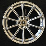 Rays Wheels Gram Lights 57Getter Sunlight Silver 18x9.5 +30 5x114.3
