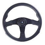Nardi Challenge - 350mm (Black Leather)