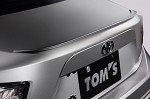 TOM'S Racing Trunk Lid Spoiler (Paint Code 37J) - Scion FRS