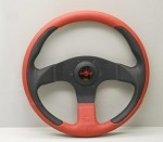 Personal New Racing - 320mm (Black / Red/Blk Perf Leather)