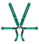 Takata Formula 6 Harness (6pt bolt-on) - Green