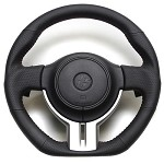 Cusco Leather 350mm Steering Wheel - Scion FR-S Subaru BRZ