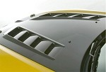 J'S Racing TYPE-V Ventillated Bonnet CFRP/FRP - S2000