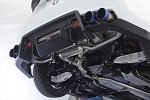 Aimgain Loop Exhaust - Scion FRS / Subaru BRZ - Polished Tips