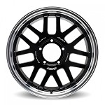 Rays A-LAP-07X Wheel - 18x7.0 / Offset +8 / 5x139.7 (Black/Rim DC)
