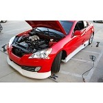 ARK Performance C-FX FRP Front Lip - Hyundai Genesis Coupe 10-12