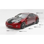 ARK Performance S-FC Body Kit - Hyundai Genesis Coupe 10-12