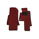 ASM Floor Mat (Red Sisal / Red Stitch) - Honda S2000 00-09 LHD