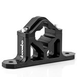Boomba Racing Shifter Bracket (Black) - Ford Mustang GT 2015+
