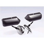 Craft Square Carbon Touring Competition Mirrors - Mini Cooper R55,R59 07-15