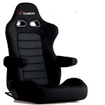 Cusco Bride Euro II+C Cruz - Black Suede (Optional Arm Rest)