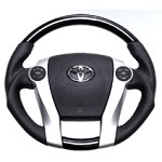 Cusco Sports Steering Wheel (Piano Black Finish) - Toyota Prius