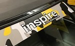 inspireUSA Full Windshield Banner - Yellow Camo - 60x8 inches