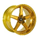 Cosmis Racing R5 Wheel (Hyper Gold) - 18x10.5 / 5x114.3 / Offset +15