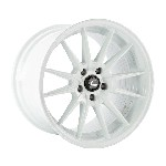Cosmis Racing R1PRO Wheel (White) - 18x12 / 5x114.3 / Offset +24