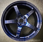 Rays Wheels Gram Lights 57CR Eternal Blue 18x9.5 +38 5x114.3