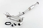 Fujitsubo Authorize-V Cat-Back Exhaust - Scion FRS / Subaru BRZ