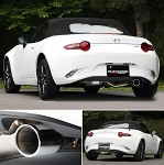 Fujitsubo Authorize R Single Axle back Exhaust - Mazda MX-5 16+