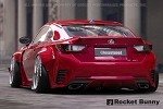 Rocket Bunny Duck Tail Wing - Lexus RC