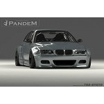 Pandem Lip Support Rods - BMW M3 Coupe 00-06