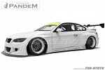 Pandem Front Lip - BMW 3-Series Coupe/M3 Coupe 06-13