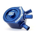 GrimmSpeed Air Oil Separator (Blue) - Subaru Turbo WRX 02-07 / WRX STI 04-19