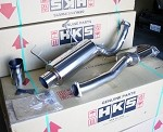 HKS Hi-Power Exhaust (single muffler, 75mm piping) - Honda S2000