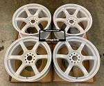 Rays Wheels Gram Lights 57DR Ceramic Pearl 18x9.5 +38 5x100