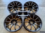 Yokohama Wheels Advan Racing RS II 18x10.5 +15 5x114.3 Semi Gloss Black