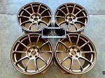 Rays Wheels Volk Racing ZE40 18x10.5 +15 5x114.3 Bronze