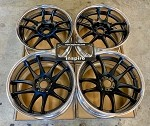 Work Wheels Emotion CR2P 18x10 +22 5x114.3 Matte Black