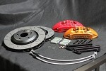 Buddy Club Racing Spec Brake Kit (Red Front) - Honda S2000 04-09