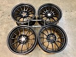 Enkei Racing NT03+M 18x9.5 +40 5x114.3 Matte Black