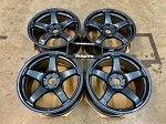 Enkei Racing PF05 18x9.5 +38 5x114.3 Misty Blue