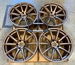 Rays Wheels Gram Lights 57Transcend 18x10.5 +20 5x114.3 Dark Bronze
