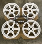 Rays Wheels Volk Racing TE37 SONIC 16x8 +35 4x100 Dash White
